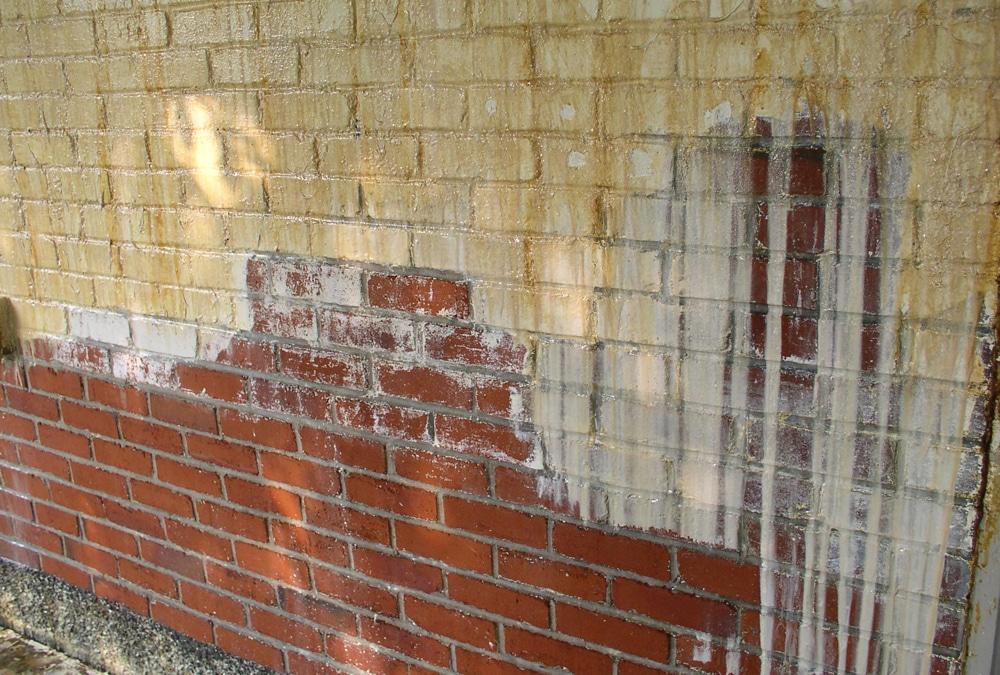 Gevel reinigen van verf en graffiti met vochtstralen info en prijs - Oude huis gevel ...