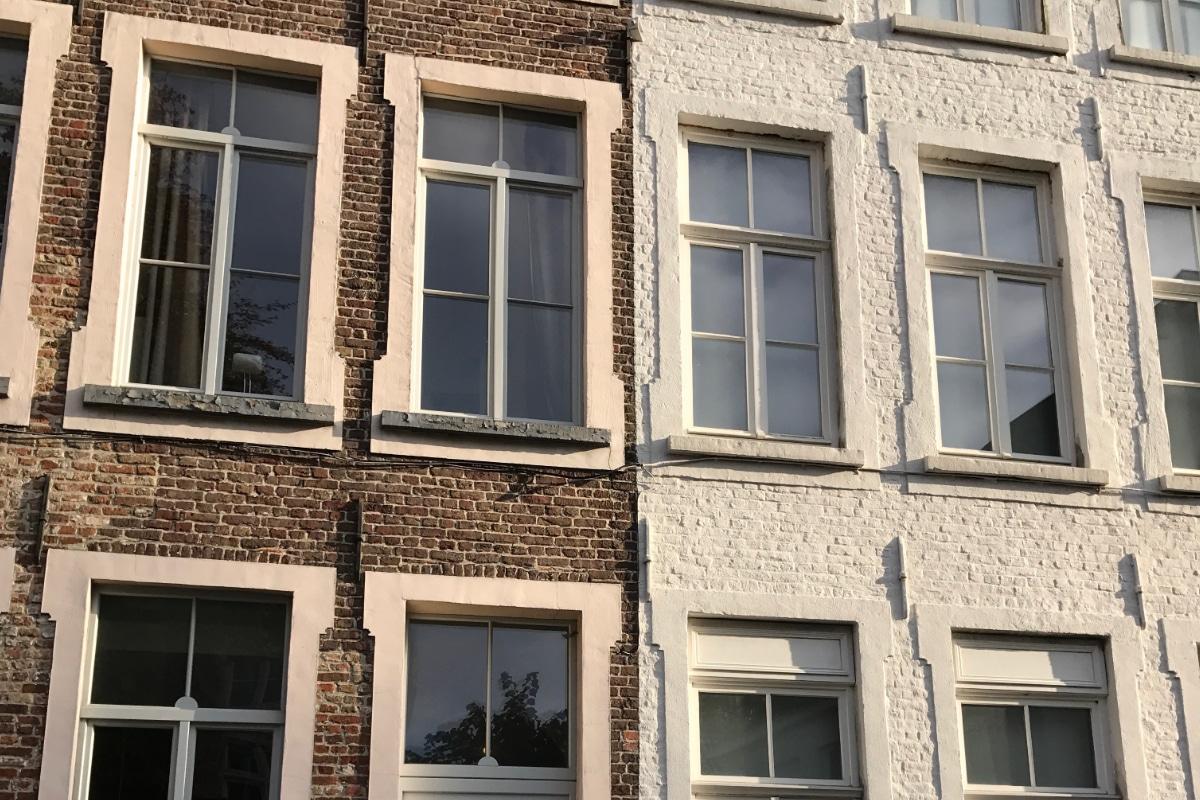 Gevel kaleien werkwijze weetjes prijs advies - Oude huis gevel ...