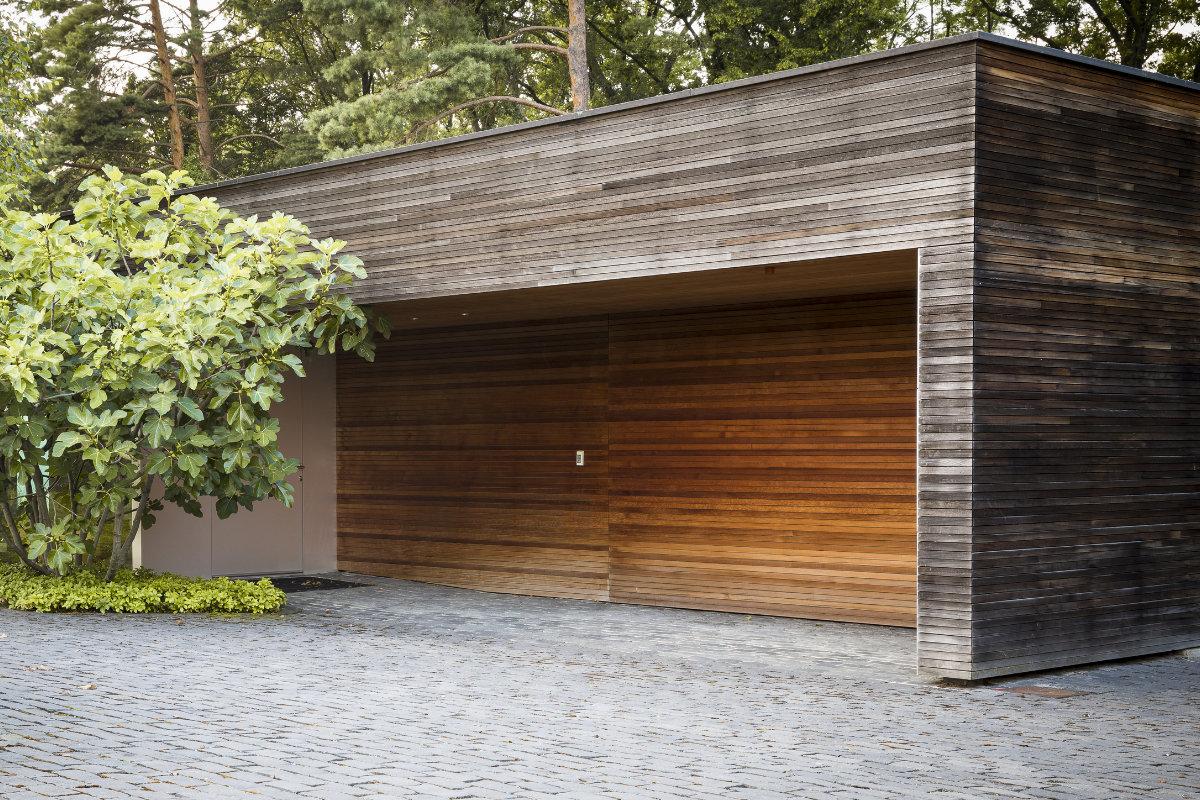houten gevel blokprofiel